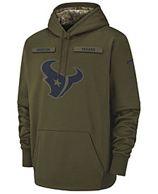 Nike Men's Houston Texans Salute To Service Therma Hoodie