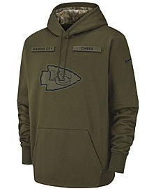 Nike Men's Kansas City Chiefs Salute To Service Therma Hoodie