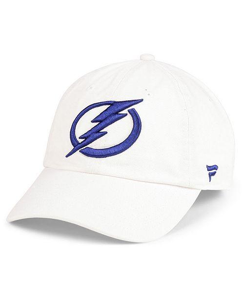 ... Authentic NHL Headwear Tampa Bay Lightning Fan Relaxed Adjustable  Strapback Cap ... 0b73ebcdd070