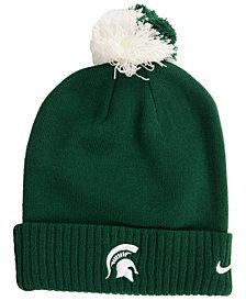 Nike Michigan State Spartans Beanie Sideline Pom Hat