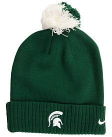 e55882b1214 Nike Michigan State Spartans Beanie Sideline Pom Hat