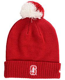 Nike Stanford Cardinal Beanie Sideline Pom Hat