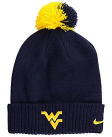 Nike West Virginia Mountaineers Beanie Sideline Pom Hat