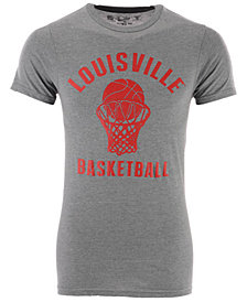 Retro Brand Men's Louisville Cardinals Dual Blend Basketball T-Shirt