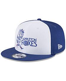 New Era Appleton Foxes Hometown 9FIFTY Snapback Cap
