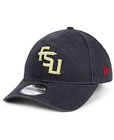 New Era Florida State Seminoles Graphite Classic Twill 9TWENTY Strapback Cap