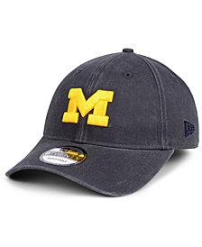 New Era Michigan Wolverines Graphite Classic Twill 9TWENTY Strapback Cap