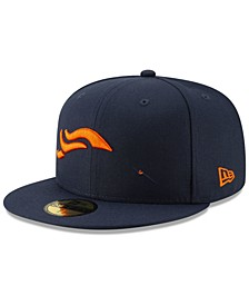Denver Broncos Logo Elements Collection 59FIFTY FITTED Cap