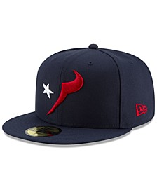 Houston Texans Logo Elements Collection 59FIFTY FITTED Cap