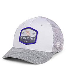 Top of the World LSU Tigers Hyjak Mesh Flex Stretch Fitted Cap