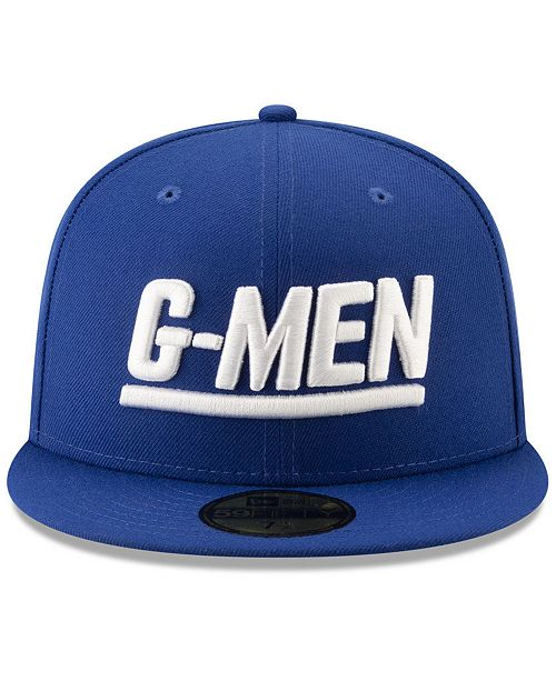 9ecb6922dc0 ... New Era New York Giants Logo Elements Collection 59FIFTY FITTED Cap ...