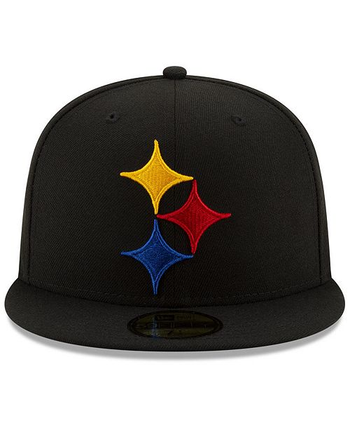 5c545f37 Pittsburgh Steelers Logo Elements Collection 59FIFTY FITTED Cap