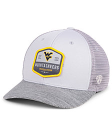 Top of the World West Virginia Mountaineers Hyjak Mesh Flex Stretch Fitted Cap