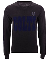 Authentic NFL Apparel Men s Indianapolis Colts Streak Route Long Sleeve  T-Shirt 5ee00f76c
