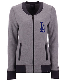 New Era Women's Los Angeles Dodgers French Terry Full-Zip Jacket