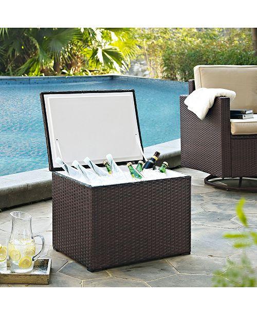 Crosley Palm Harbor Outdoor Wicker Cooler