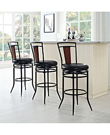 Soho Swivel Bar Stool With Cushion