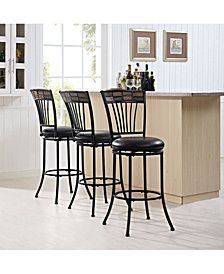 Templeton Swivel Bar Stool With Cushion