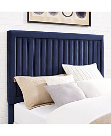 Grayson Full And Queen Headboard In Microfiber