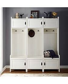 Fremont 3 Piece Entryway Kit - 3 Towers