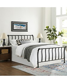 Raleigh Queen Metal Headboard And Footboard