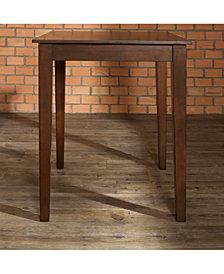 Tapered Leg Pub Table