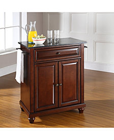 Cambridge Solid Granite Top Portable Kitchen Island
