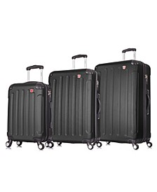 Intely 3-Pc. Hardside Tech Luggage Set