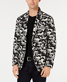 Michael Kors Men's Camo Jacquard Blazer