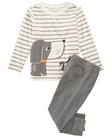 First Impressions Toddler Boys Dog Graphic T-Shirt & Pants Separates, Created for Macy's
