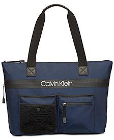 Calvin Klein Tabbie Nylon Tote
