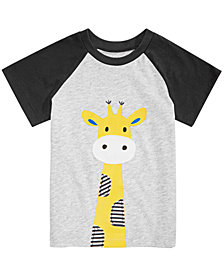 First Impressions Baby Boys Giraffe Graphic T-Shirt, Created for Macy's