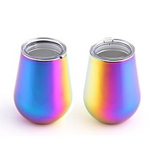 14oz Double Wall Stemless Wine Tumblers - Set of 2