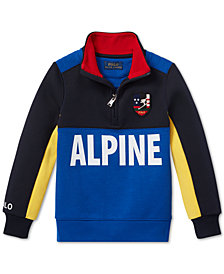 Polo Ralph Lauren Toddler Boys Downhill Skier Tech Pullover