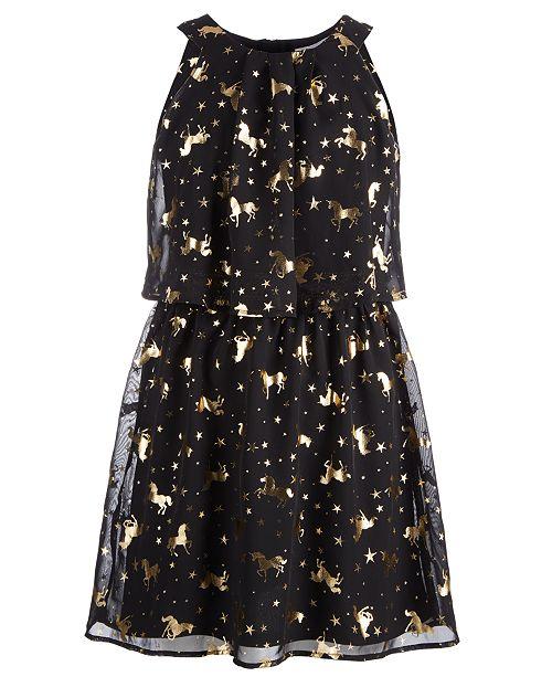2fd7bba851f21 ... Epic Threads Big Girls Foil-Print Unicorn Dress, Created for Macy's ...