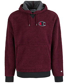 Champion Men S Fleece Logo Hoo