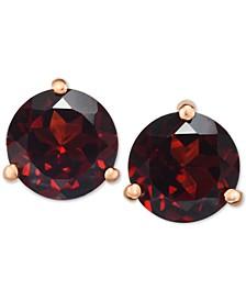 Rhodolite Garnet Stud Earrings (2-3/4 ct. t.w.) in 14k Gold