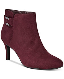 Alfani Women's Step 'N Flex Faust Booties, Created for Macy's