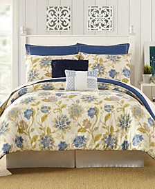 Presidio Square Monterey Queen Comforter Set - 7 Piece
