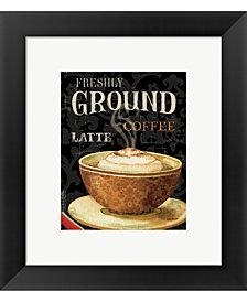 Todays Coffee II by Lisa Audit Framed Art