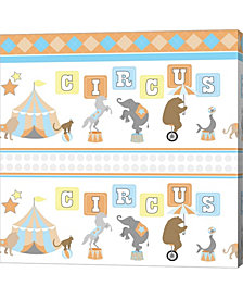 Baby Big Top XII Blu by ND Art & Design Canvas Art