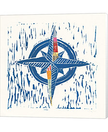 Nautical Collage I by Courtney Prahl Canvas Art