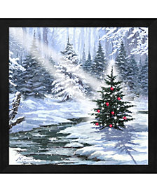 Little Christmas Tre By The Macneil Studio Framed Art