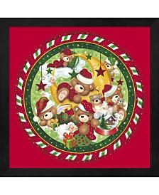 Christmas Bears 1 By Ratru Framed Art