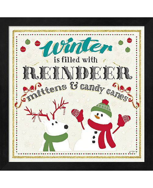 Metaverse Winter Wonderland I By Janelle Penner Framed Art