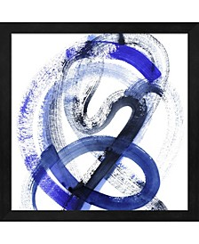 Blue Kinesis III By Grace Popp Framed Art