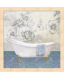 Garden Bath II by Drako Fontaine Framed Art