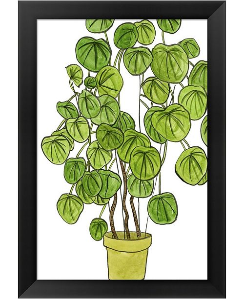 Metaverse Potted Jungle II By Melissa Wang Framed Art
