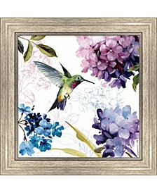 Spring Nectar Squar2 By Lisa Audit Framed Art