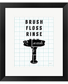 Letterform Sink by Sue Schlabach Framed Art